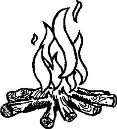 campfire clip art free