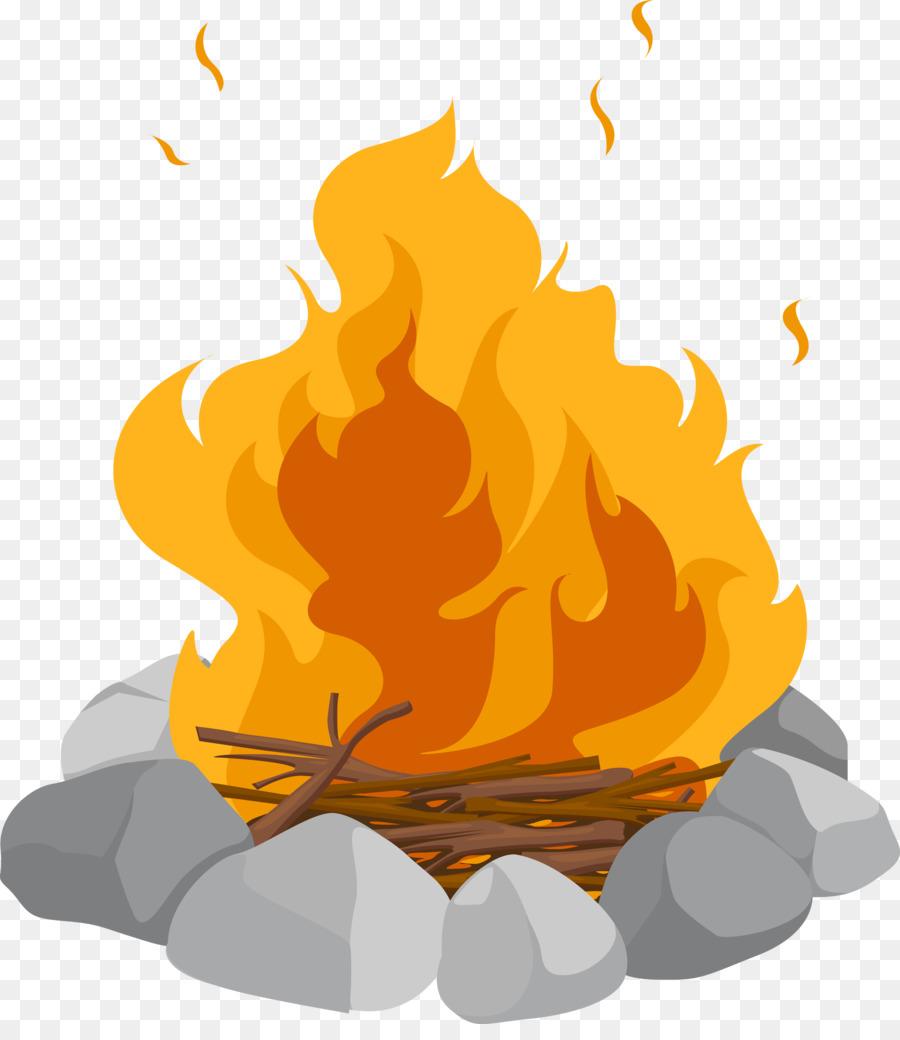 Campfire clipart comic. Cartoon bonfire clip art