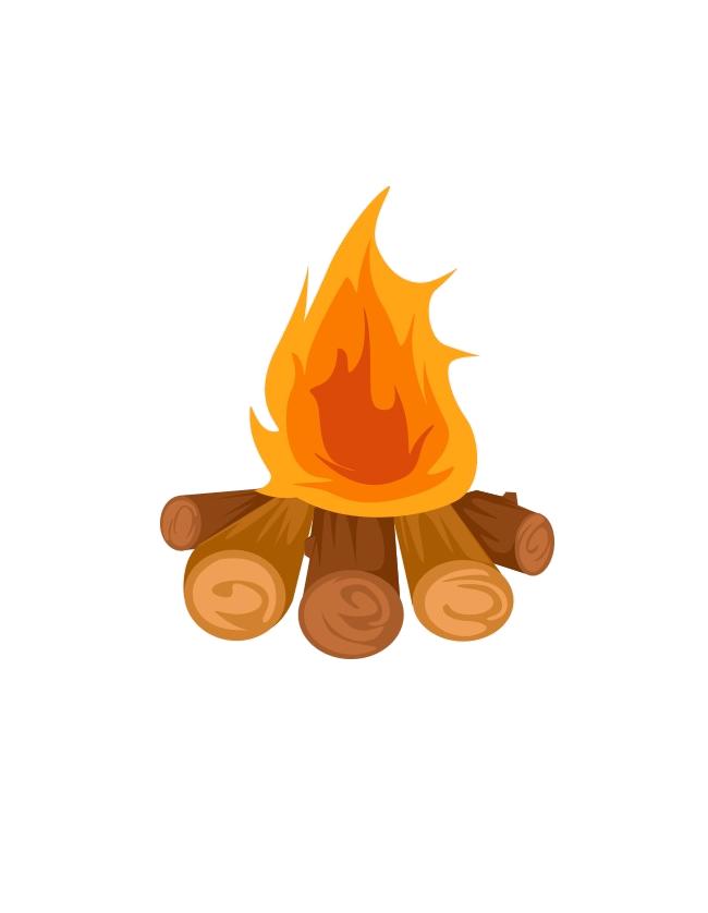 Bonfire clipart bonfire party. Clip art campfire illustration