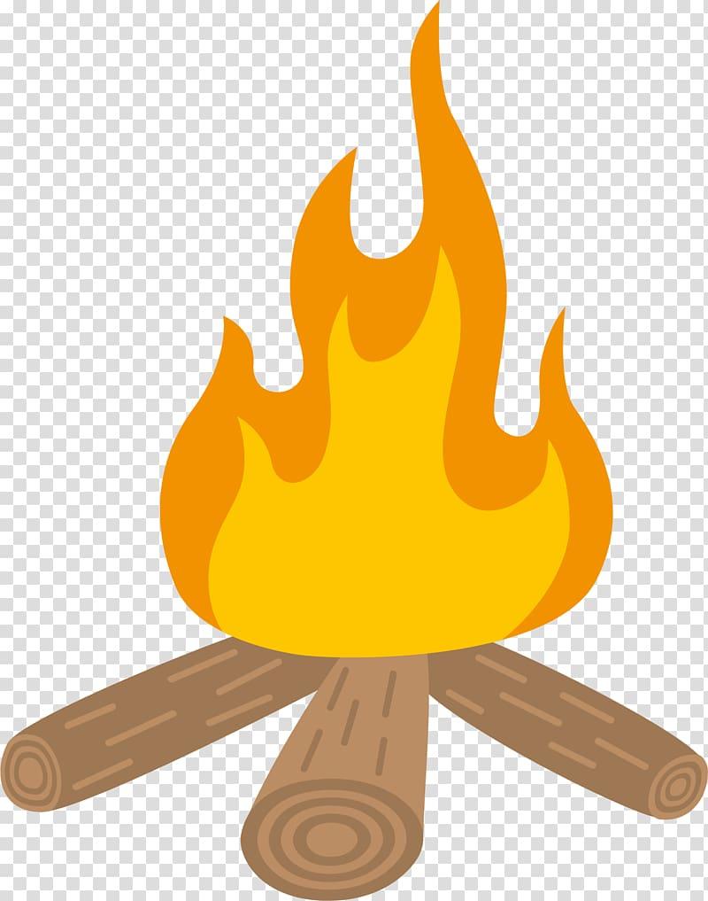 Campfire clipart comic. Animated illustration of bonfire