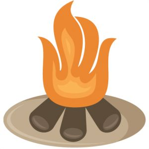 best camping images. Bonfire clipart campground