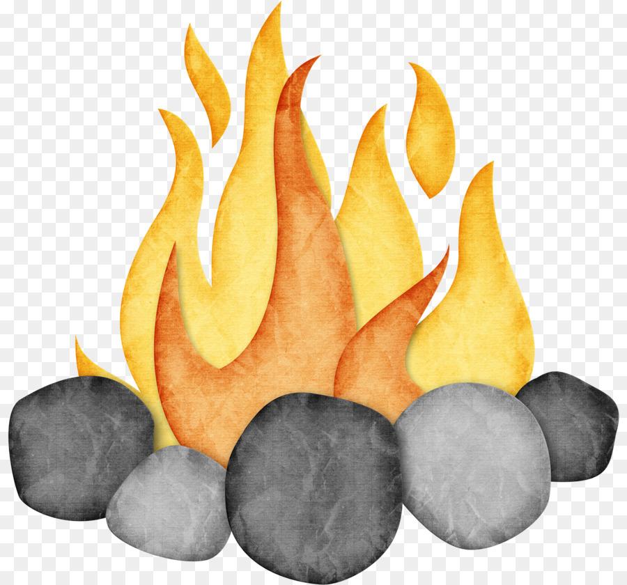 Camping cartoon campfire smore. Bonfire clipart campground