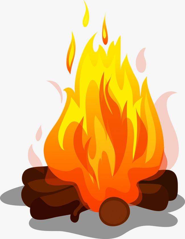 Png vectors psd and. Bonfire clipart cute