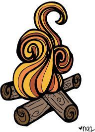 best melonheadz images. Bonfire clipart cute