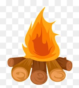 Png images vectors and. Bonfire clipart cute