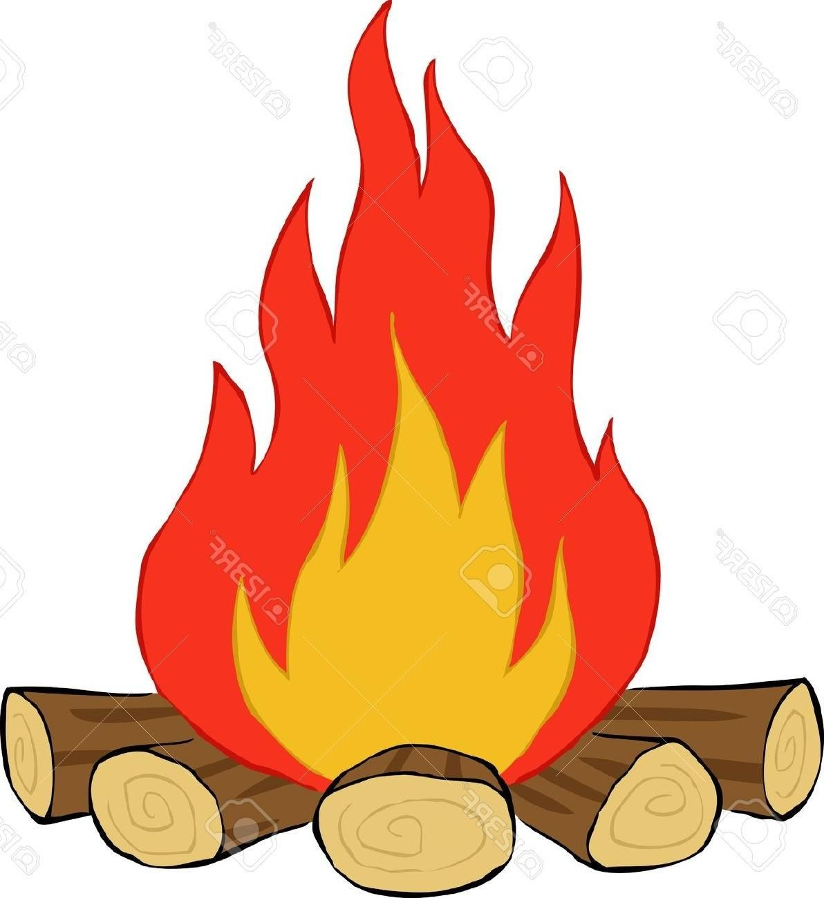 Best free camp fire. Fireplace clipart log in