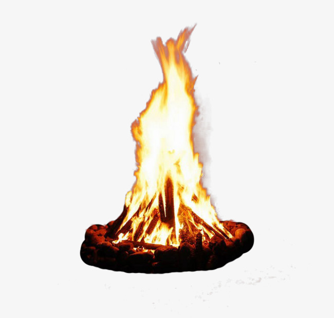 Campfire clipart flame. Bonfire png vectors psd