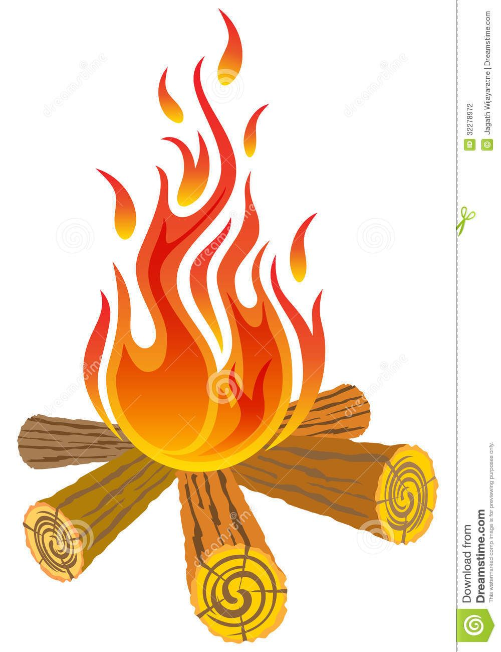 Campfire clipart fire pit. Around the camp isolated