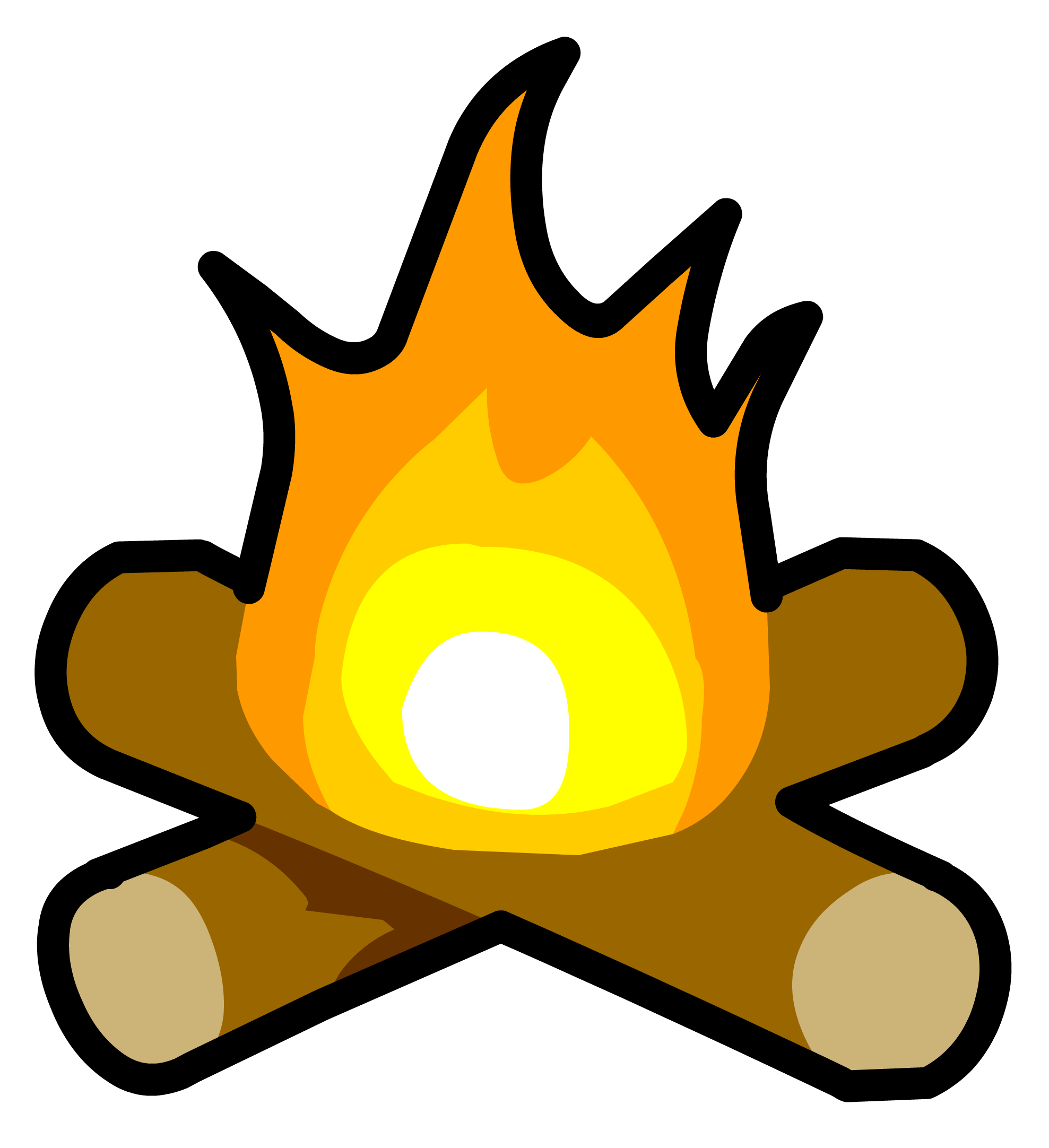 Bonfire pin | Club Penguin Wiki | FANDOM powered by Wikia