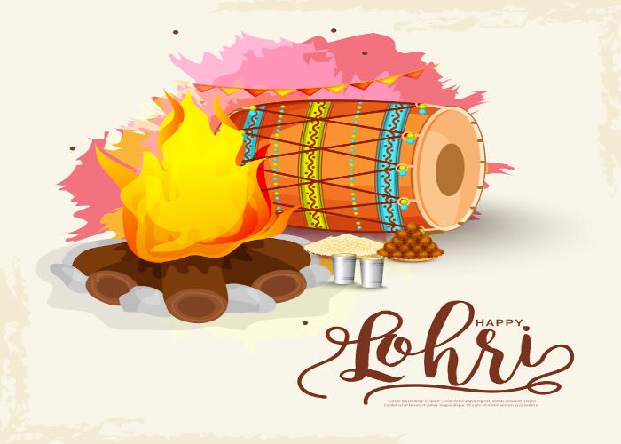Bonfire clipart lohri. Festival in india celebrations