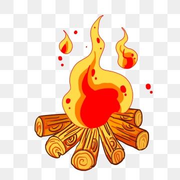 Bonfire clipart painted. Beautiful png vectors psd