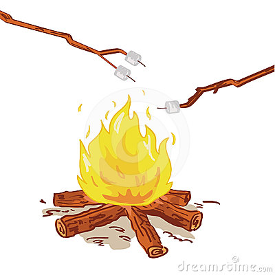 Campfire clipart roasting marshmallow. Marshmallows free download best