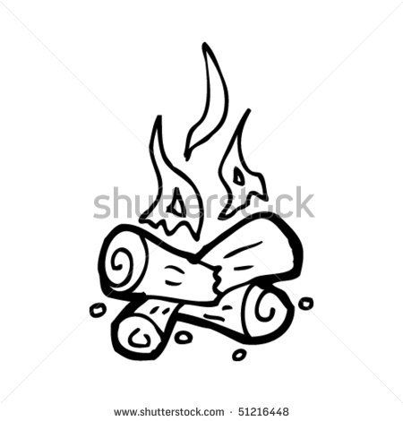 Free drawing download clip. Campfire clipart simple