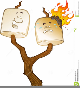 Smores clipart. Bonfire free images at