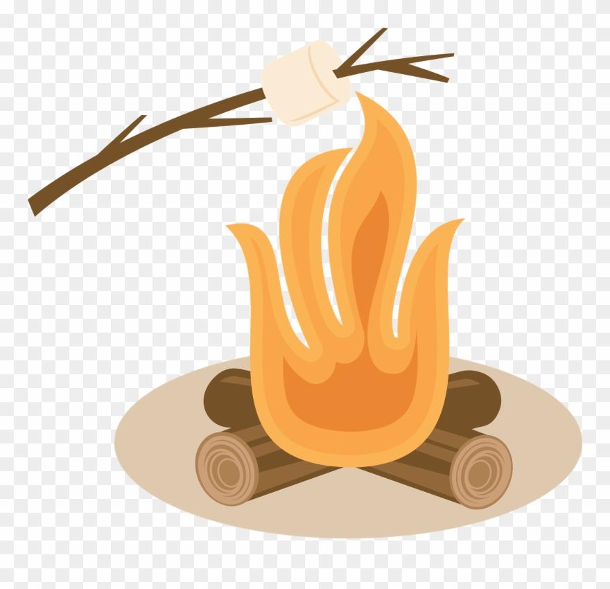 Jpg s more toast. Campfire clipart roasting marshmallow