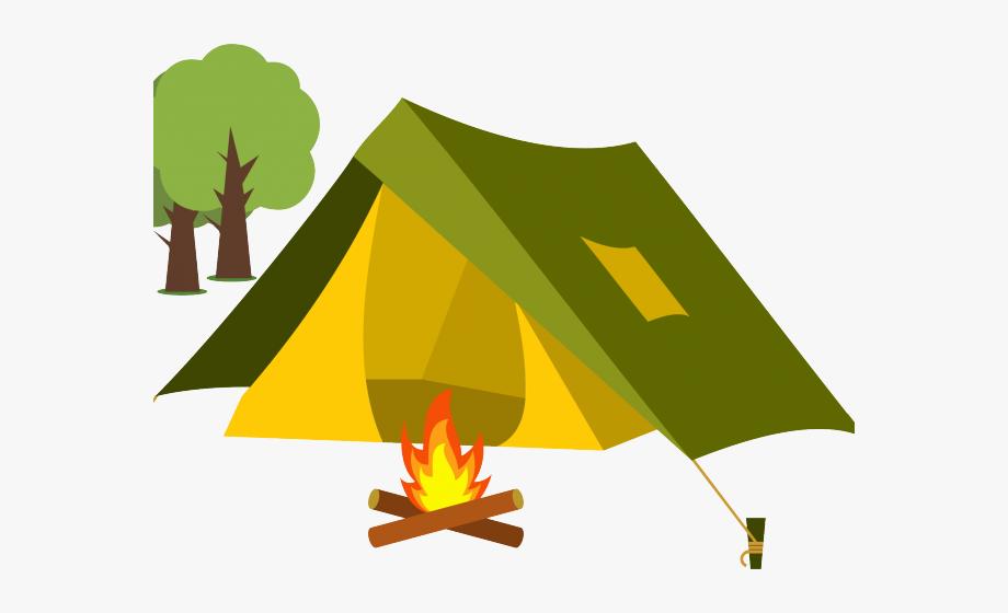 Clipart tent camping trip. Camp fire clip art