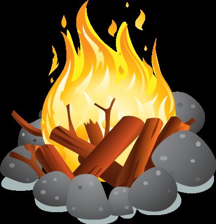 Campfire clipart bonfire. Png images transparent free