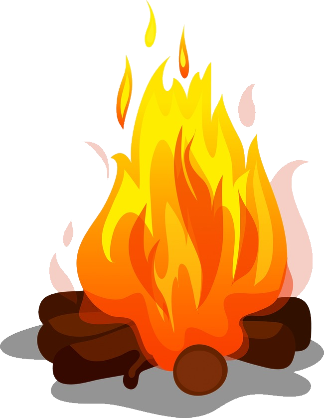 Png . Bonfire clipart transparent background