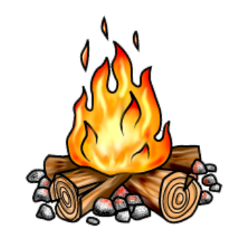 Campfire clipart transparent background. Download free png image