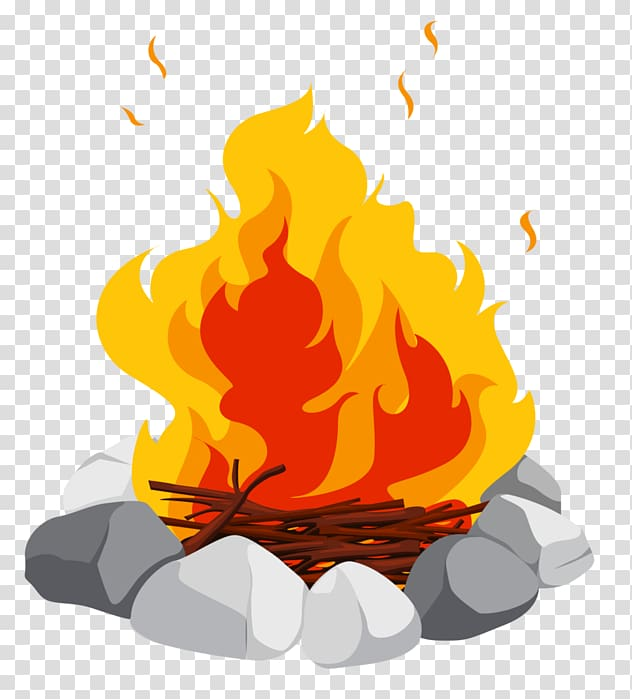 Campfire clipart camfire. Bonfire transparent background png