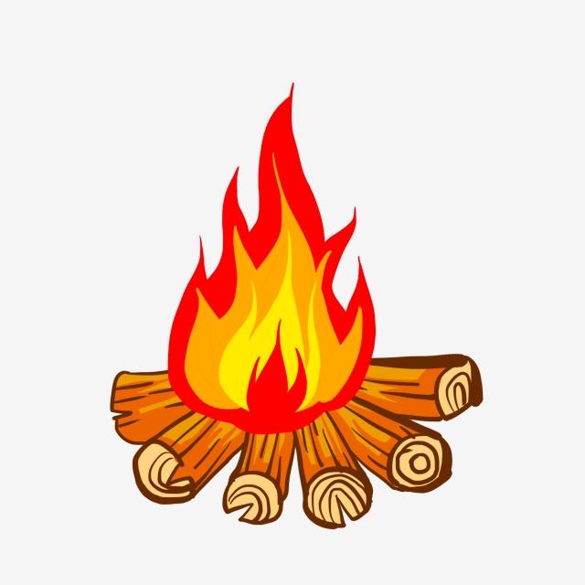 Bonfire clipart tree. Png vector psd and