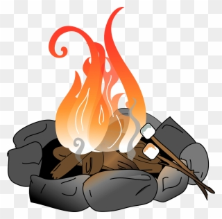 Free png marshmallows clip. Fire clipart endothermic