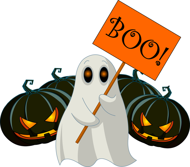 collection of boo. Clipart monkey halloween