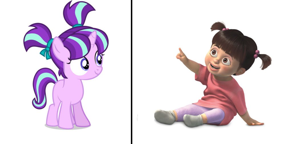 Boo clipart monsters inc.  safe starlight glimmer