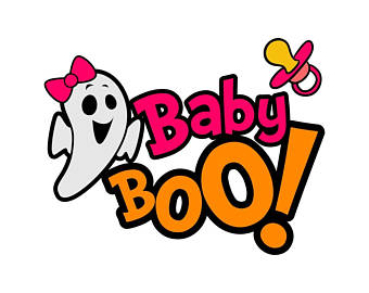 Ghost svg etsy baby. Boo clipart png