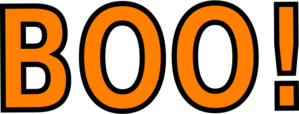 boo clipart png #33520889