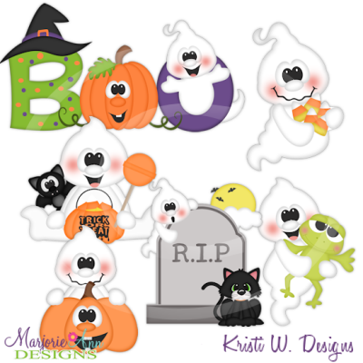 Svg cutting files includes. Boo clipart png
