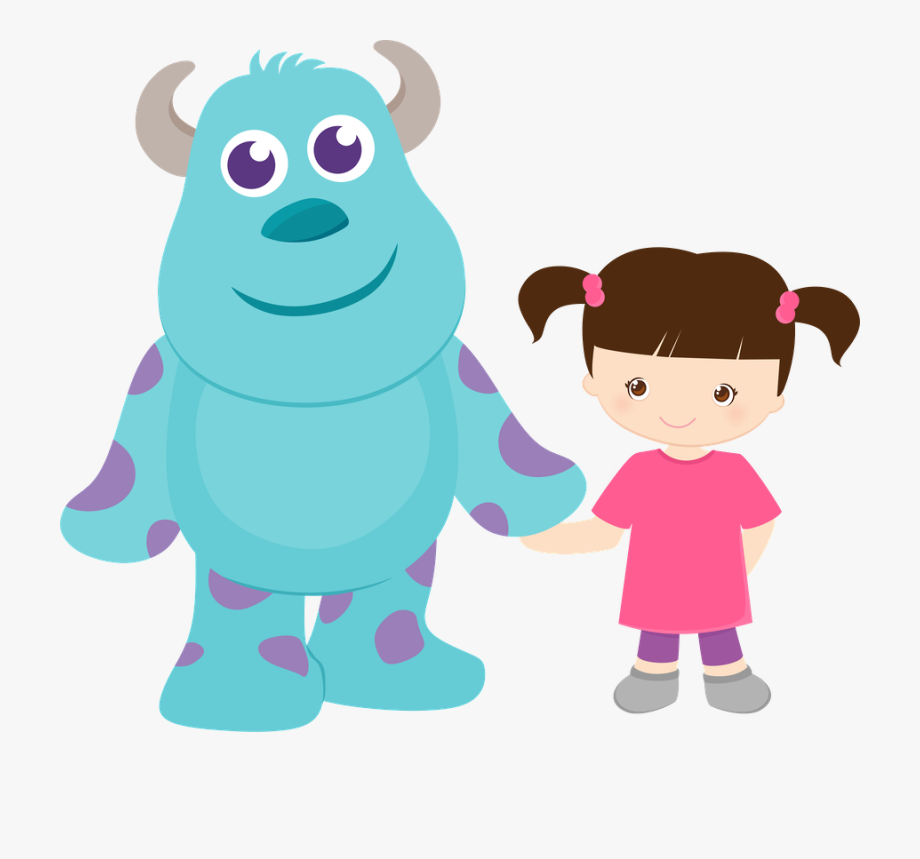 Boo clipart png. Monsters inc monster
