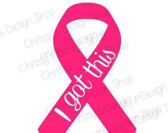 Awareness svg survivor inspirational. Boobs clipart breast cancer
