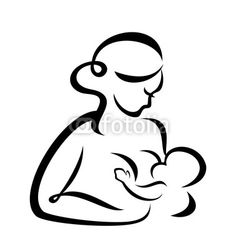 Mother svg . Boobs clipart breastfeeding