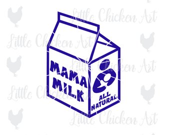 Boobs clipart breastfeeding. Clip etsy mama milk