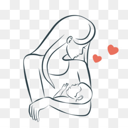 Png and psd free. Boobs clipart mother breastfeeding baby