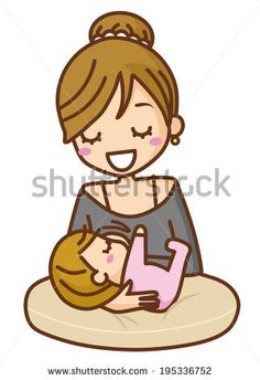 Boobs clipart mother breastfeeding baby. With her heart outline