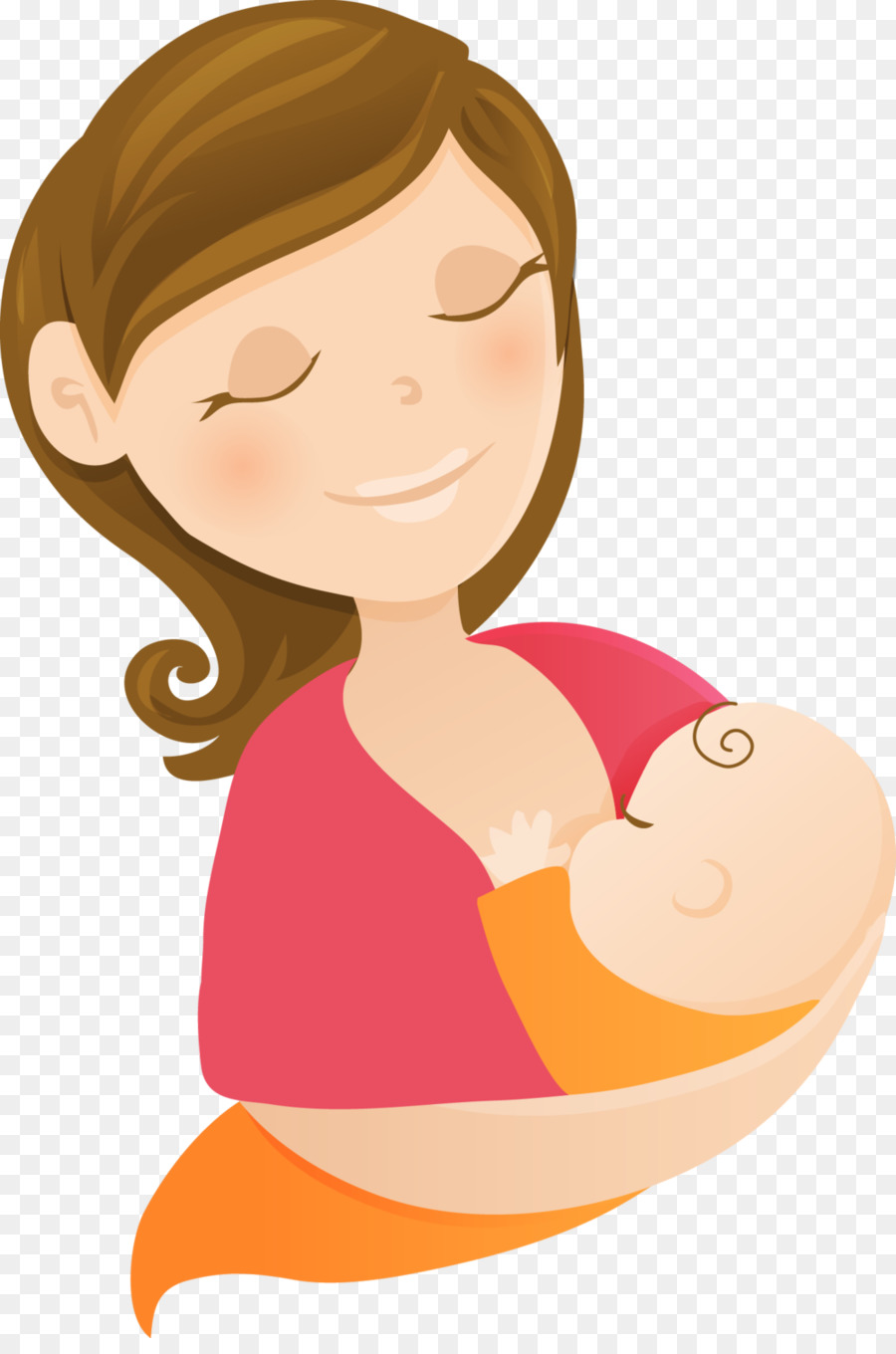 Breast milk infant png. Boobs clipart mother breastfeeding baby