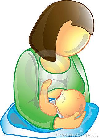 boobs clipart nursing mother