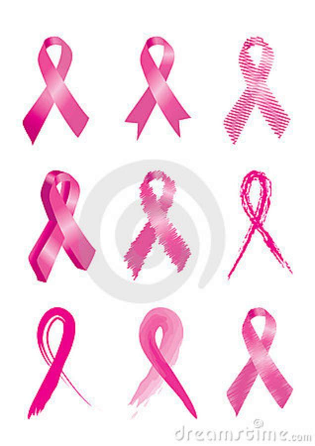 Boobs clipart support ribbon. Awareness tattoos google search