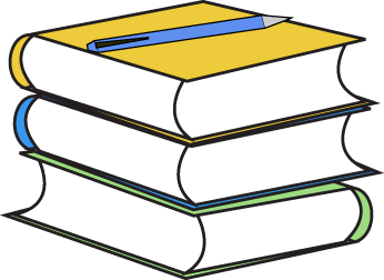 Clip art images stack. Book clipart