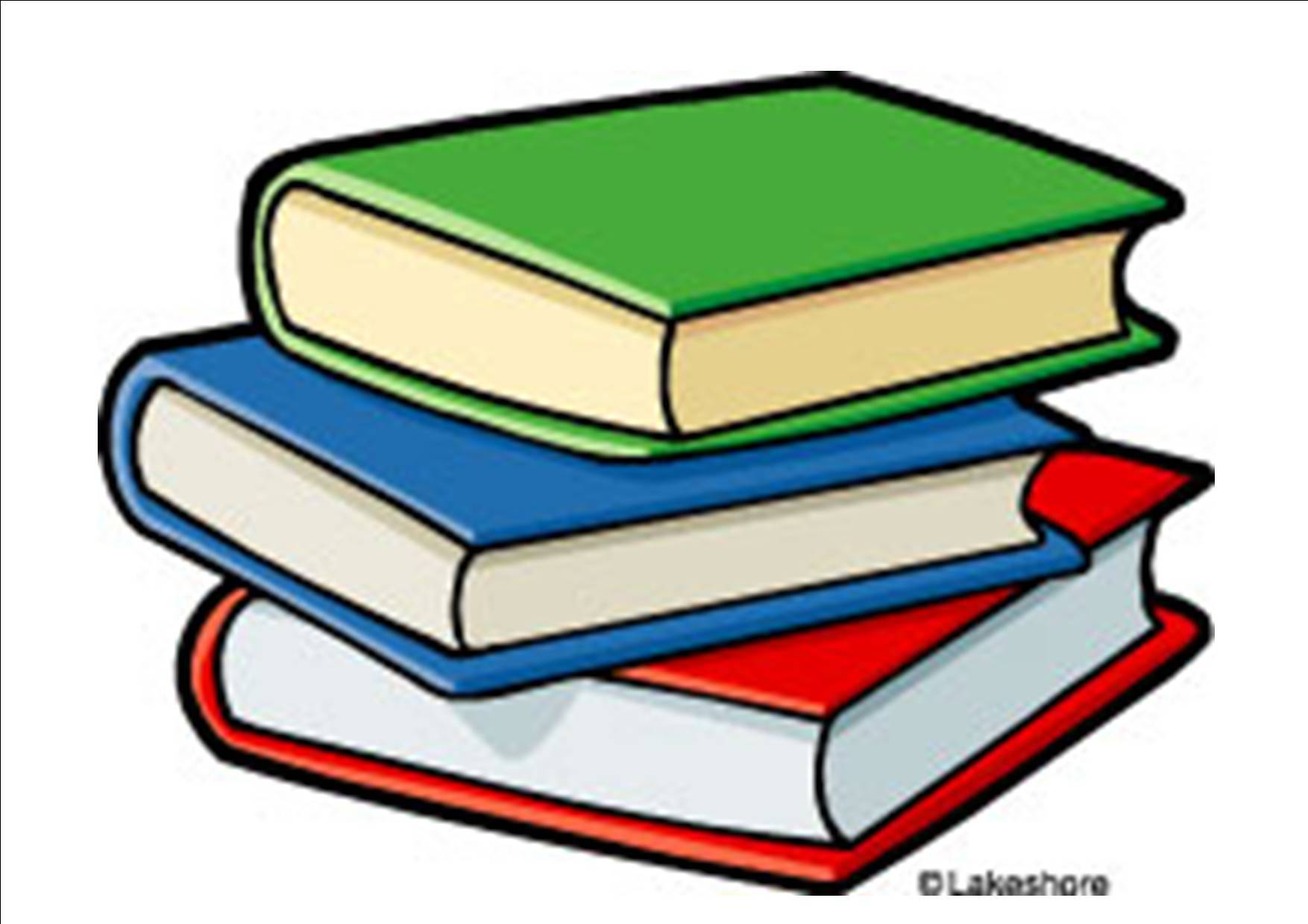 Book clipart. Image of books free