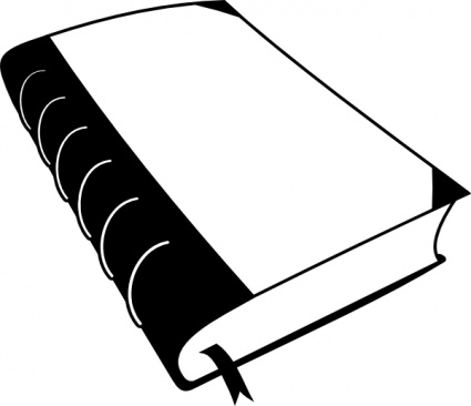 Books panda free images. Book clipart black and white