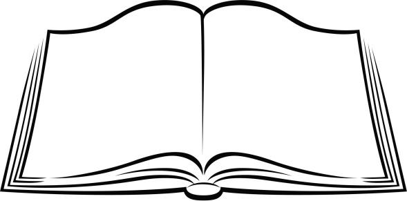 Books clipartix. Book clipart black and white