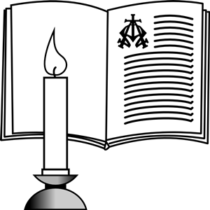 Book clipart candle. And bible cliparts of