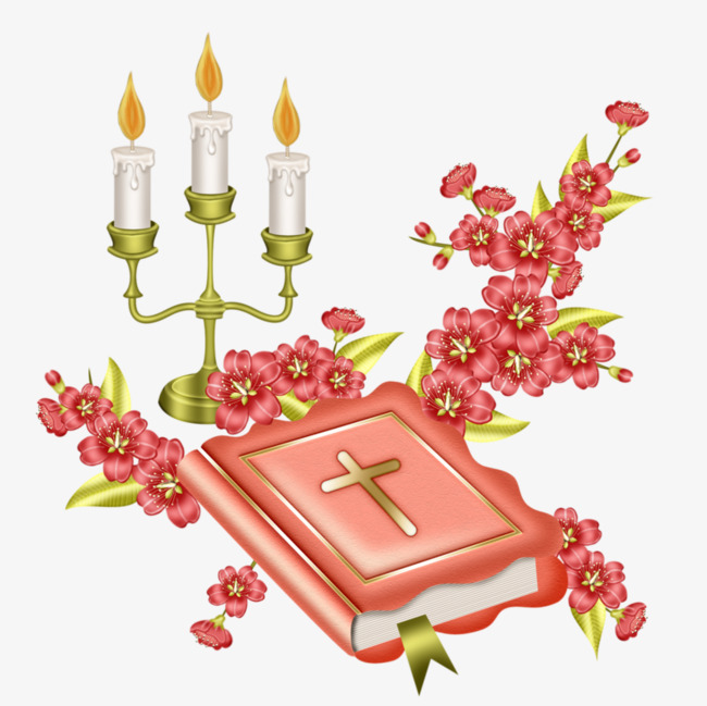 Books and candles good. Book clipart candle