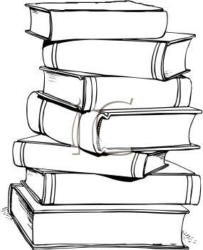 Book clipart cartoon. Books clip art royalty