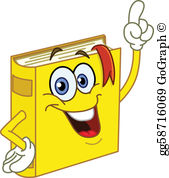 Clip art royalty free. Book clipart cartoon