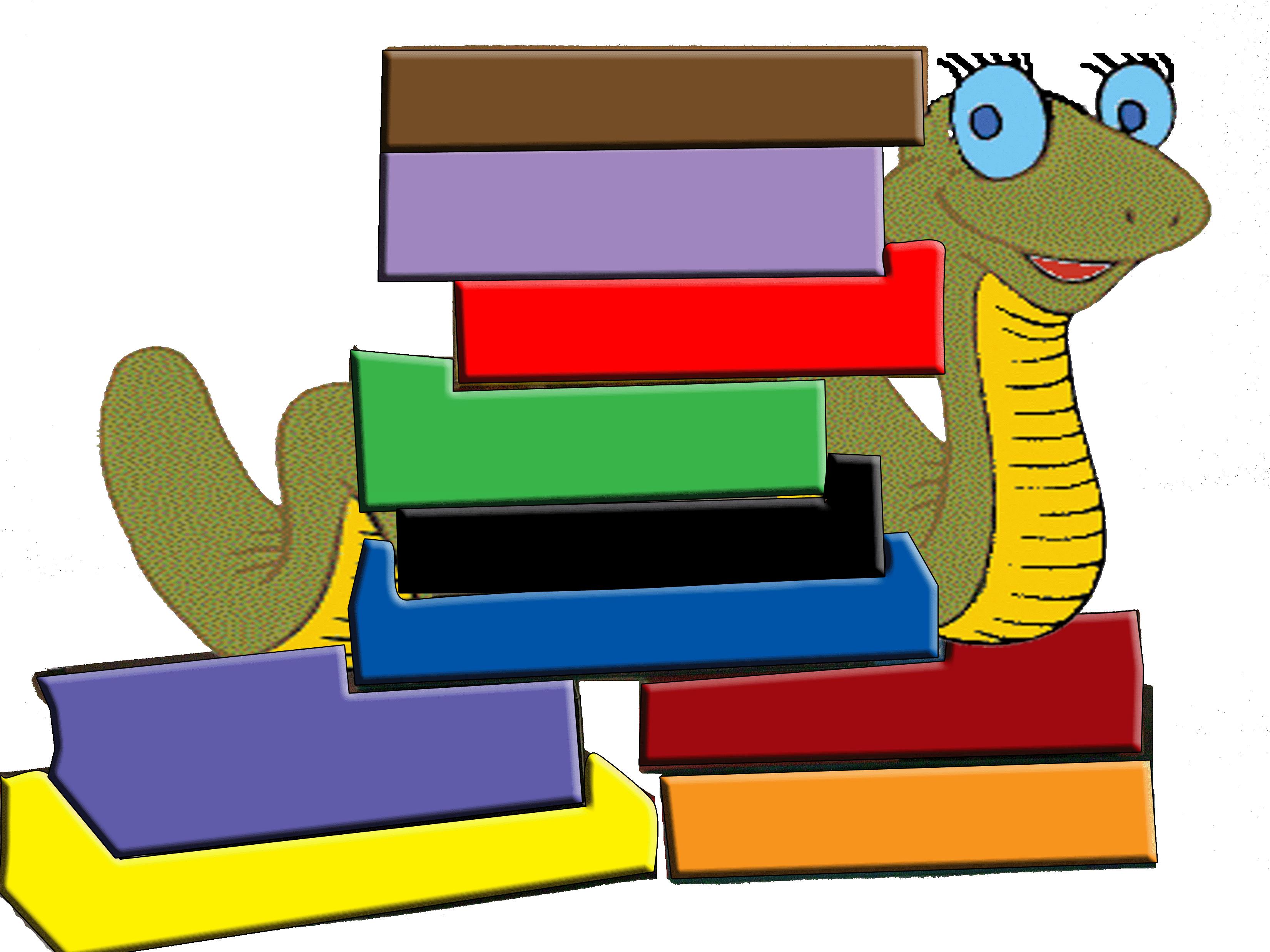 Childrens books clip art. Book clipart children's book