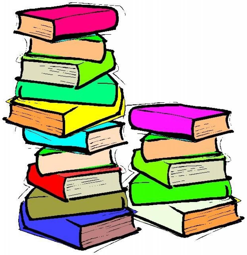 Book clipart children's book. Stack of childrens books
